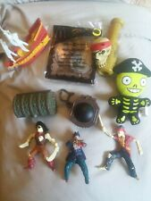 9 Pirates of The Caribbean Disney McDonalds Toy Figures