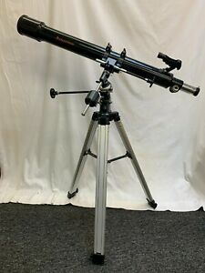 Celestron Telescope Firstscope 70 EQ Plus Tripod Instructions Several Eye pieces
