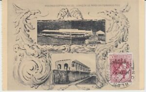 Ansichtskarte Afrika  Fernado Poo  Missionsstation  1933