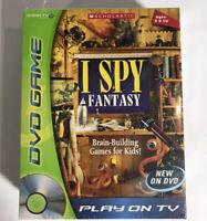 I Spy™  Fantasy DVD Game Brand New Sealed Free Shipping!