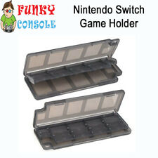 Nintendo Switch 10 in 1 Game Card Cart Case Holder Cartridge Storage Box