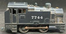 Tri-Ang HO Gauge- 0-4-0 Steam Locomotive #7744 RUNS BUT NEEDS WORK! VINTAGE