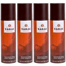Tabac Original 4 x 200 ml Deo Deodorant Spray Set for man