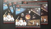 Apollo 11 first man on the Moon Romania 2009 MNH 5 sheets Scott 5112 C/V $48.75