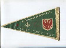 N°7040 / fanion Chief Scout's Rally LANARKSHIRE 1956 Scout  Scoutisme jamborée