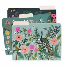 Rifle Paper Co Shanghai Garden Letter Sized File Folders Set Of 6