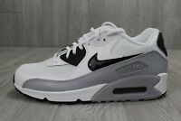 26 Nike Air Max 90 Essential Women's White/Black/Grey Shoes 616730-111 Sz 9 9.5
