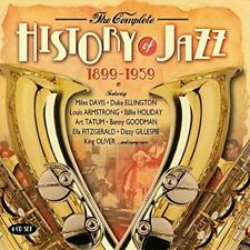 The Complete History Of Jazz 1899-1959 - Various (NEW 4CD)