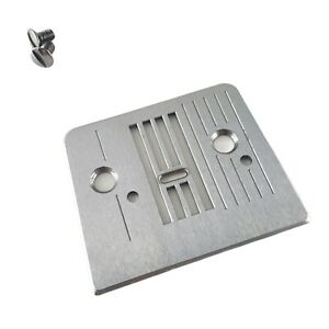 Brother VX-1435 Sewing Machine PARTS - Throat Plate w/ screws part # 52