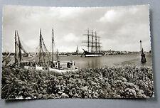 Frankierte Ansichtskarten ab 1945 mit dem Thema Schiff & Seefahrt