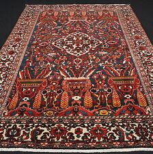Alter Orient Teppich 345 x 252 cm Perserteppich Dunkelblau Old Carpet Rug Tapijt
