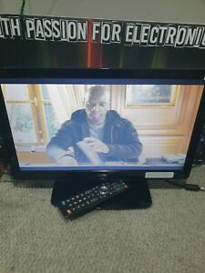 """E1166 LOGIK L19HE12 19"""" HD READY DIGITAL FREEVIEW LED TV with REMOTE"""