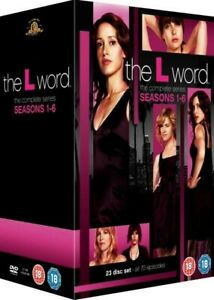 """THE L WORD COMPLETE SERIES COLLECTION 1-6 DVD BOX SET 23 DISCS R4 """"NEW"""""""