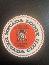 Vintage Nevada Lodge Coaster