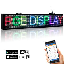 Full Color LED Sign SMD RGB Programmable Scrolling Message LED Display Board