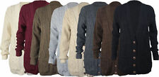Button Unbranded Regular Long Jumpers & Cardigans for Women