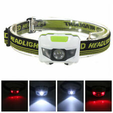 Mini 4 Modes Waterproof 1200LM CREE R3 2 LED Headlight Light Lamp With Headband