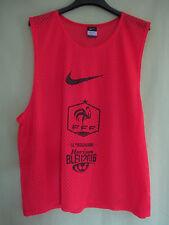 Maillot dossard entrainement Equipe France FFF Nike 2016 shirt Porté Foot - L XL