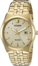 Citizen Corso Eco-Drive Champagne Dial Men's Watch - BM7332-53P