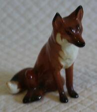Beswick 1748 Sitting Fox Figure