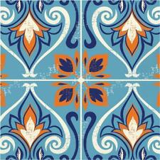 16 x Moroccan Tile Paper Party Lunch Napkins - Mosiac