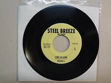 """BRAND X:Come On Home 3:12-Stop! In The Name Of Love-U.S. 7"""" Steel Breeze Records"""