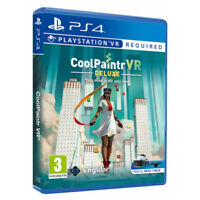 Coolpaintr VR Deluxe Edition PlayStation PS4 PSVR 2019 EU English Sealed