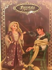 DISNEY Limited Edition Fairytale Designer Collection RAPUNZEL and  FLYNN