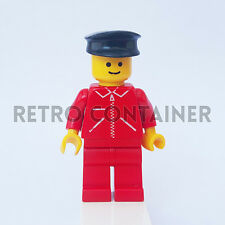 LEGO Minifigures - 1x jred005 - Mechanic - Vintage Town Omino Minifig Set 6363