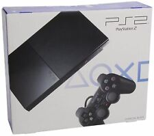Sony PlayStation 2 Slim - Charcoal Black (SCPH-90004)