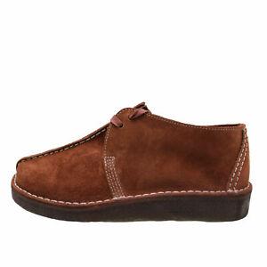 Clarks Originals Desert Trek Burgundy Men's Suede Lace Up Boots 61395