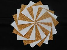 30 4x4 Yellow Quilt Fabric Squares~4059