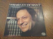 33 tours CHARLES DUMONT mon amour