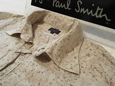 """PAUL SMITH Mens Shirt 🌍 Size L (CHEST 46"""") 🌎 RRP £95+ 📮 FLORAL LIBERTY STYLE"""