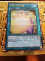 YuGioh Soul Charge NM (1st Ed.) DUSA-EN092 Ultra Rare Card
