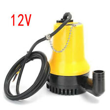 12V Submersible Water Pump 4500L/H Clean Clear Dirty Pool Pond Flood Garden