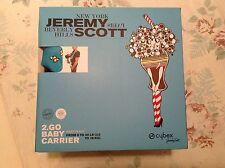 New Cybex Jeremy Scott 2 Go Baby Carrier Food Fight limited edition Nip