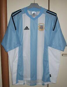 Argentina 2002 - 2004 Home football shirt jersey Adidas size XL