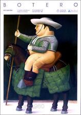 Fernando BOTERO Picadores Man On Horse Poster 39-1/4 x 27-1/2