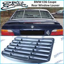BMW 3 Series E36 Coupe Rear Window Louver ,ABS Plastic Grills For BMW 3