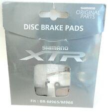 2 PLAQUETTES DE FREINS SHIMANO XTR BR-M965/M966   (disk brake )