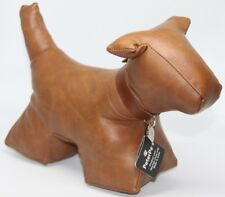 Sale - Decorative Dog Door Stopper by Peter Paw - Faux Leather - 1.3Kg