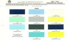 1955 1956 FORD PICKUP TRUCK F-100 F-250 F-350 PANEL PARCEL DEL PAINT CHIPS (PPG)
