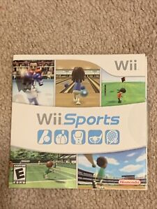 Wii Sports in Sleeve Nintendo Wii game