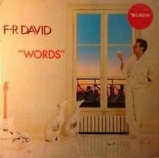 F.R. David Words (1982)  [LP]