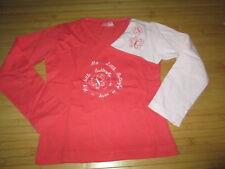 Tee-shirt orange à motif,ML,T5ans,marque La Redoute,en TBE