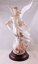 LLADRO GUARDIAN ANGEL 01006352 . SIGNED . LIMITED EDITION . W/BASE . MINT