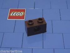 Ladrillo Lego 3700 con Agujero Marrón x 8 ** Nuevo Lego **