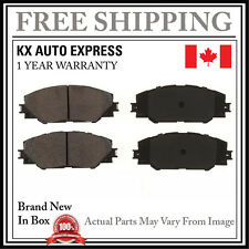 FRONT CERAMIC BRAKE PADS FOR PONTIAC VIBE 2.4L 2009 2010 D1211