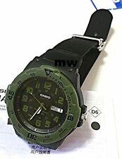 Casio Mrw200hb-1bv Mens Black Dial Analog Quartz Watch With Nylon Strap
